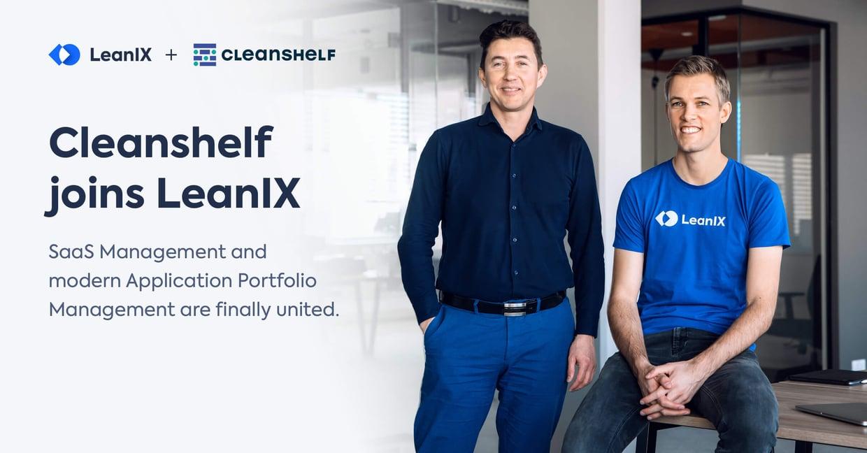 Cleanshelf joins LeanIX