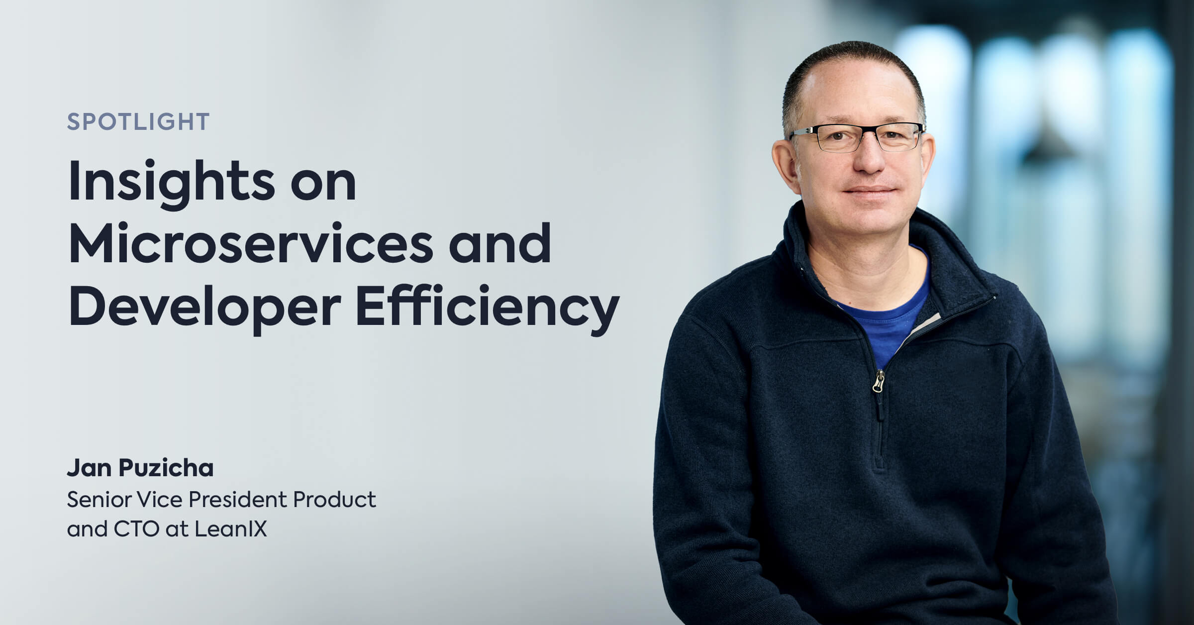 Spotlight: Jan Puzicha Shares Insights on Microservices and Development Efficiency