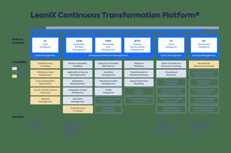 LeanIX Continuous Transformation
