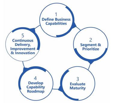 he Metis Strategy Business Capability Development Process.