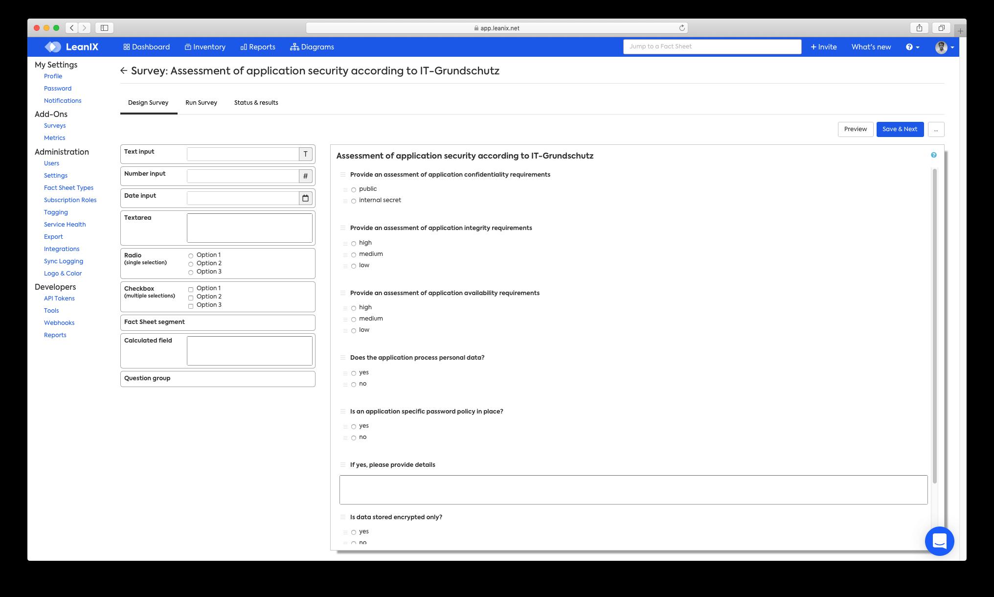 TOGAF Survey