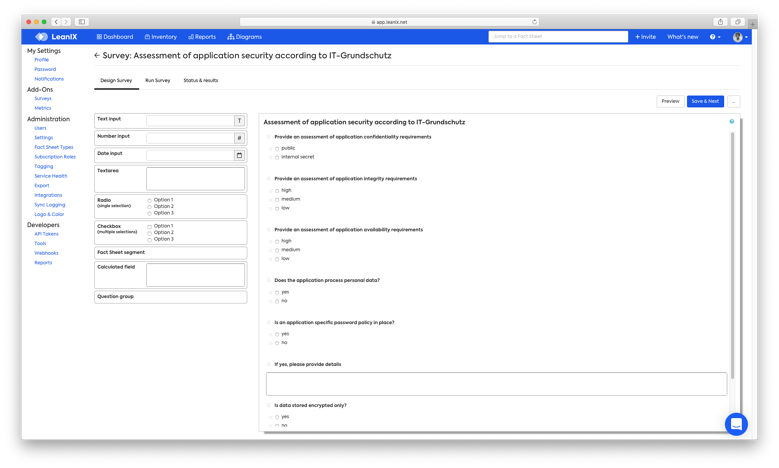 TOGAF Survey