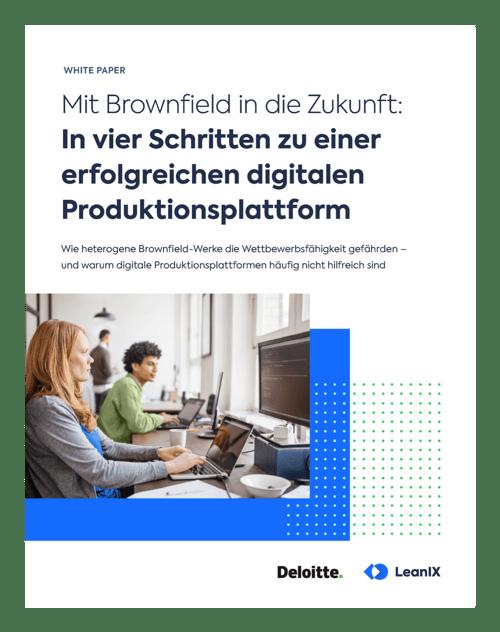 White Paper: Mit Brownfield in die Zukunft – in vier Schritten zu einer erfolgreichen digitalen Produktionsplattform