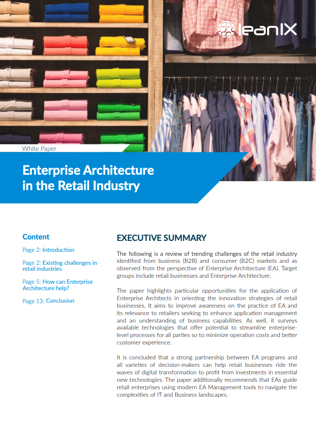 Enterprise Architecture in the Retail Industry