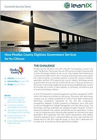 How Pinellas County Digitizes Government Services for Its Citizens