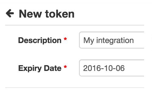 Höhere Sicherheit mit API Tokens