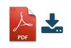 Speichern Sie Auswertungen als PDF