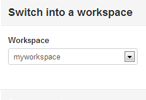 Parallel use of multiple workspaces