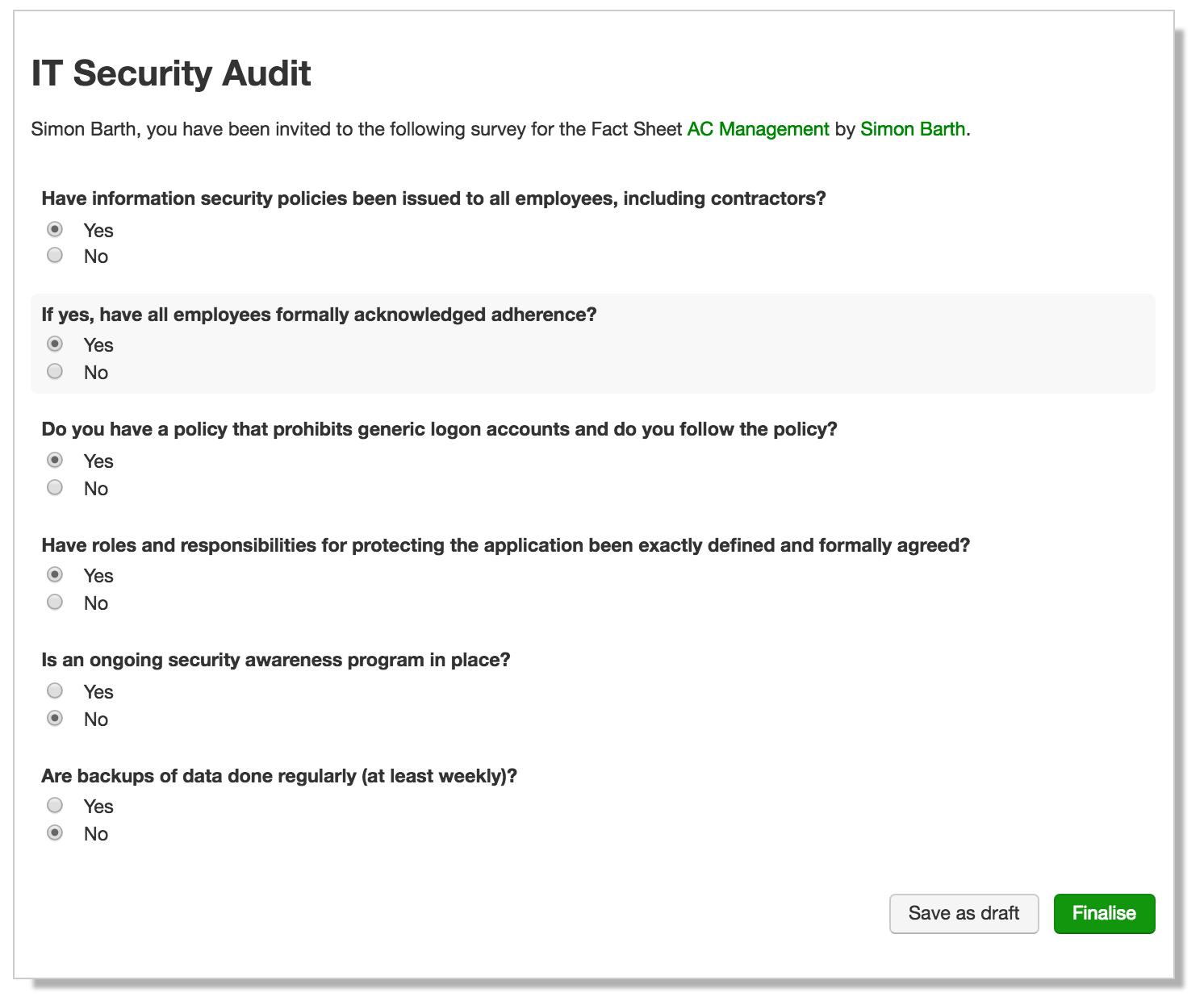 Halten wir uns an verpflichtende IT Sicherheitsanforderungen?