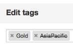 Archiving of tags