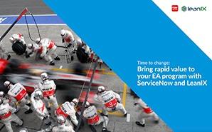 Generieren Sie einen schnellen Mehrwert für Ihr EA-Programm mit ServiceNow und LeanIX (Englisch)