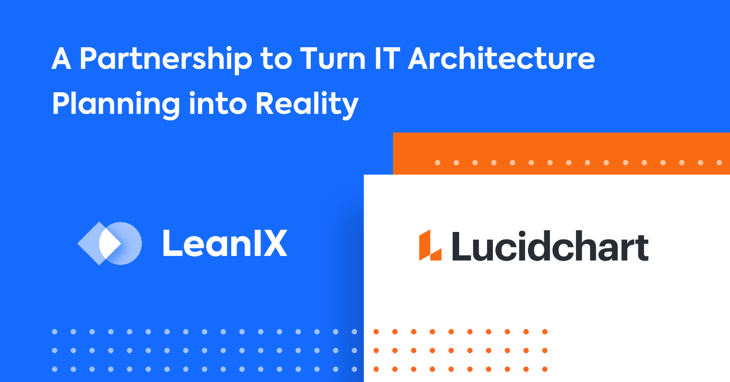 LeanIX and Lucidchart Announce Partnership and Product Integration to Take EA Diagramming to a New Level