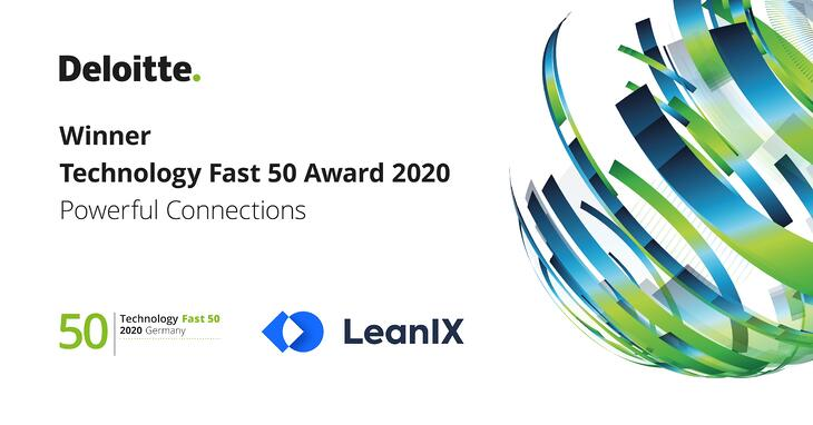 LeanIX Awarded Deloitte Technology Fast 50 Award 2020