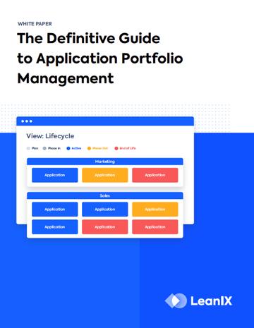 Application Portfolio Management (APM)