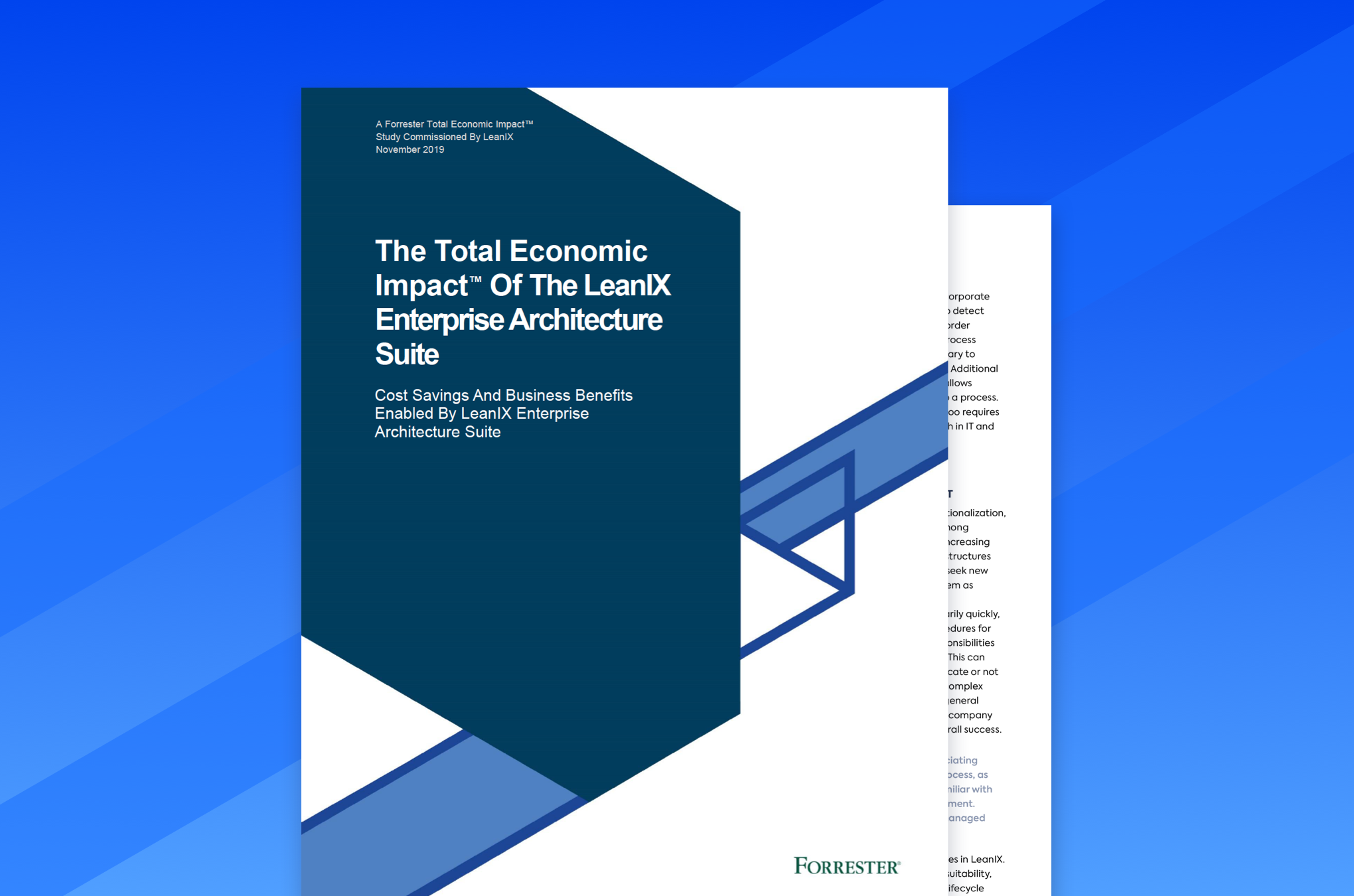 The Total Economic Impact Of The LeanIX Enterprise Architecture Suite
